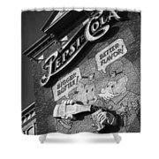 Pepsi Cola Vintage Logo  Shower Curtain
