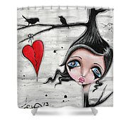 Perch To Land Shower Curtain