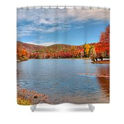 Perfect Autumn Day Shower Curtain