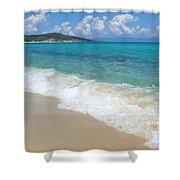 Perfect Beach Shower Curtain