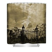 Perfect Halloween Card Shower Curtain