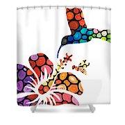 Perfect Harmony - Nature's Sharing Art Shower Curtain