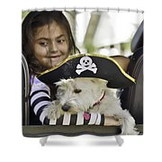 Perfect Pirates Shower Curtain