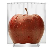 Perfect Red Apple Shower Curtain