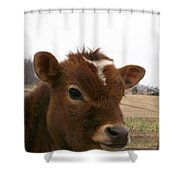 Perfect Stance Shower Curtain