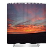 Perfect Vivid Sunset Shower Curtain