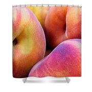 Perfectly Peachy Shower Curtain