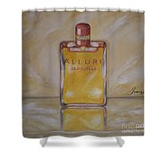 Perfume-allure Shower Curtain