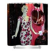 Perfume Girl Shower Curtain