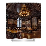 Periodicals Room New York Public Library Shower Curtain