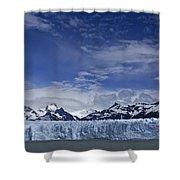 Perito Moreno Glacier And The Andes Shower Curtain