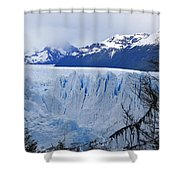 Perito Moreno Glacier Shower Curtain