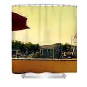 Perkin's Cove - Ogunquit Me - Number 3 Shower Curtain