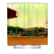 Perkin's Cove - Ogunquit Me - Number 4 Shower Curtain