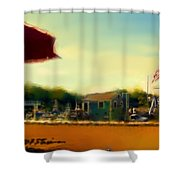 Perkin's Cove - Ogunquit Me - Number 5 Shower Curtain