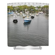 Perkins Cove Shower Curtain