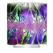 Permanent Liminality Shower Curtain