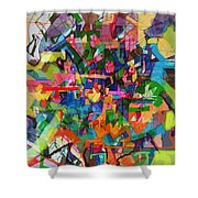 Perpetual Encounter With Providence 4 Shower Curtain