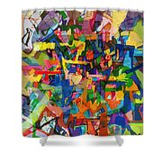 Perpetual Encounter With Providence 7 Shower Curtain