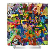 Perpetual Encounter With Providence 7b Shower Curtain