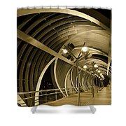 Perrault Bridge Shower Curtain