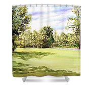 Perry Golf Course Florida  Shower Curtain