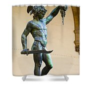 Perseus And Medusa Shower Curtain