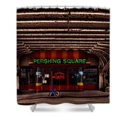 Pershing Square Cafe Shower Curtain