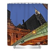 Pershing Square Shower Curtain