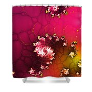 Persistent Flowers Shower Curtain