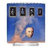 Persistent Remembrance Shower Curtain