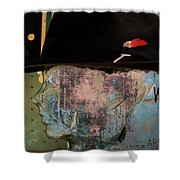 Personality Three  Shower Curtain