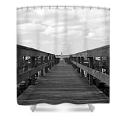 Perspective Lighthouse 1 Shower Curtain