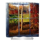 Perspective On Fall  Shower Curtain