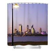 Perth 2am-004259 Shower Curtain