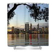 Perth 2am-110873 Shower Curtain