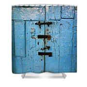 Peruvian Door Decor 8 Shower Curtain