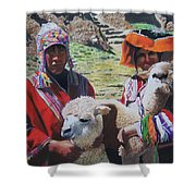 Peruvians Shower Curtain