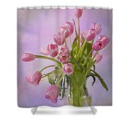 Petal Pusher  Shower Curtain