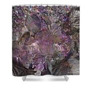Petal To The Metal - Square Version Shower Curtain