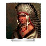 Petalesharro. Generous Chief  Pawnee Shower Curtain