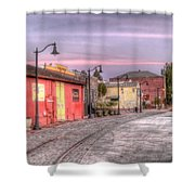 Petaluma Morning Shower Curtain by Bill Gallagher