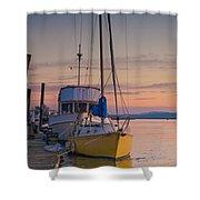 Petaluma River II Shower Curtain