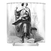 Peter Abelard (1079-1142) Shower Curtain