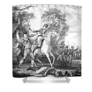 Peter Francisco (c1760-1831) Shower Curtain