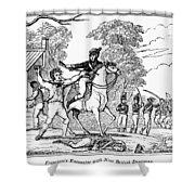Peter Francisco Shower Curtain