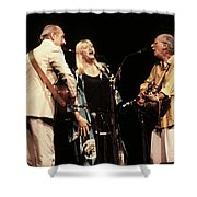Peter Paul And Mary Shower Curtain