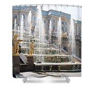 Peterhof Palace Fountains Shower Curtain