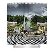 Peterhof Palace Shower Curtain