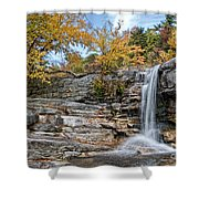 Peterskill Falls Shower Curtain
